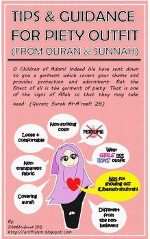 Tips and Guidance For Piety Outift by littleMuslimah