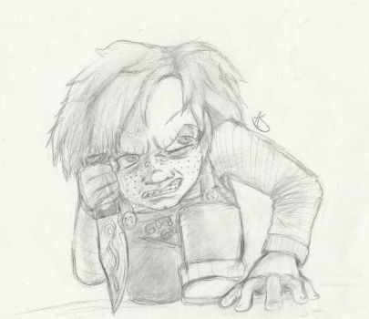 Chucky Light Practicing by DickNoodleSoup
