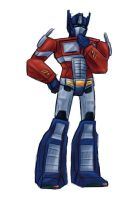 Optimus be happy by SachiAmi