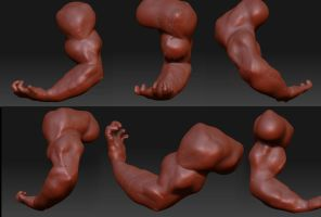 Zbrush exercise2 by Hankins