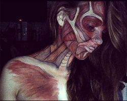 Muscle body paint by lgoresfx