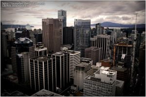 Vancouver city II by MmeLeo