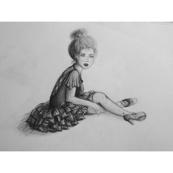 Ballerina by wolfland2