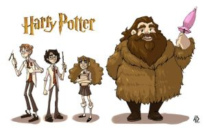 Harry Potter Line Up by AlyssaTallent