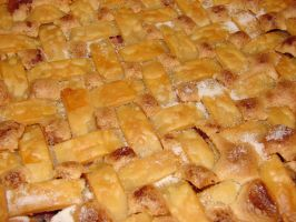Rhubarb Pie Lattice Crust by FantasyStock