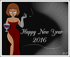 Happy New Year 2016 by delta0shadow