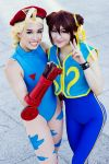 Cammy White and Chun Li - Street Fighter Alpha by Mostflogged