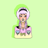 PASTEL GOTH by souleaterevans99