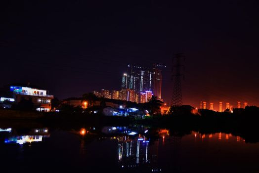 Pluit At Night (2) by Ozzixx