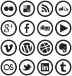 WP7 Metro Social Media Icons by blnkdsgn