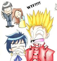 Trigun on crack by Kikoli