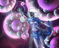 Bubble Galaxy by Astral-Chan