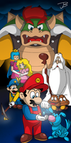 The Great Mission to Save Princess Peach by llKirbyXll