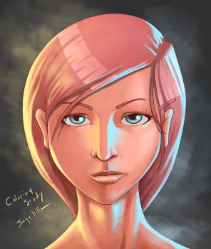 coloring study - another version of cold by bayukilla