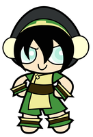 Powerpuff Toph by Booter-Freak