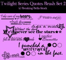 Twilight Quote Brushes by Breaking-Bella-Stock