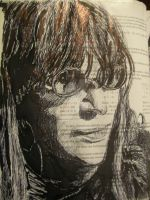 Textbook Art 9: Joey Ramone by ArtofRamo