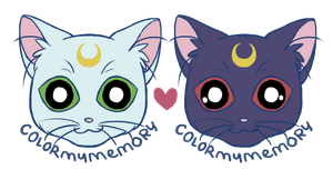 Sailor Cats (1B) by ColorMyMemory