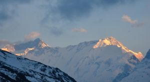 Annapurna Circuit - Day 7 - Sunset by LLukeBE
