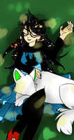 Jade: Nap with Bec by Nixhil