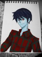 Marshall Lee the Vampire King - Mouse painting by ouranhalfkewl