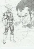 Vegeta- non anime....kinda by -vassago-