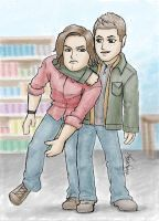 Supernatural - Brothers by kelly42fox