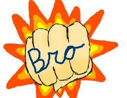 BROFIST! (iScribble) by DibFan4LifeX3