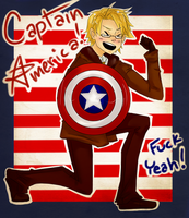 APH- Captain America by Omnomnom-Monster