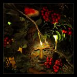 A Green Man Christmas by Forestina-Fotos