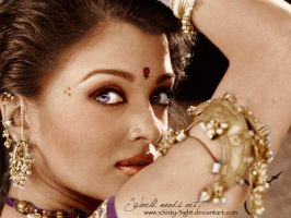 The Beautiful Indian Woman by xSixty-3ight