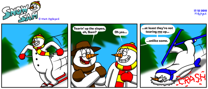 Snow Sam Comic 92 by BluebottleFlyer