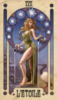 Tarot: The Star by Smolin