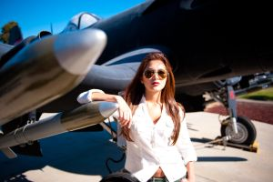 Amy at Miramar Air Museum 4 by trevor-w