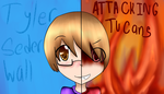 The Two sides of AttackingTucans o: by Anime-Gamer-Girl