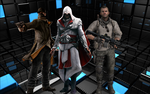 Ezio, Soap and Aiden by jomarHenrich5566