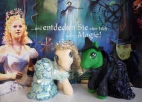 My little Pony Custom Elphie, Glinda by BerryMouse