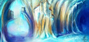 ice town by therealarien