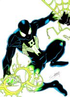 Spider-Lantern Color by LangleyEffect