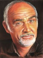 Sean Connery by Piscota