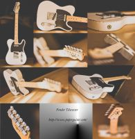Papercraft Fender Telecaster by ThanhDDanh