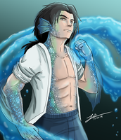 The Water God by girldirtbiker