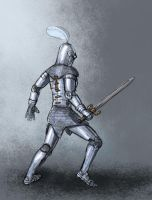 Knight, rough sketch by Vadich