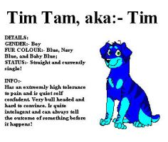 Tim Tam the puppy by dancefever92
