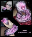Hakimi posable art doll OOAK by Deliriouswisdom