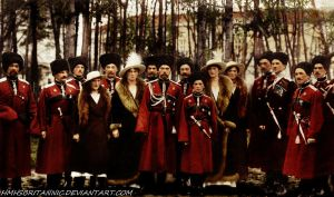Romanovs Cossacks by hmhsbritannic