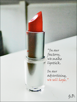 the mission of a lipstick by Cruxity