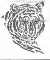 Tiger Tribal by Boarfeathers