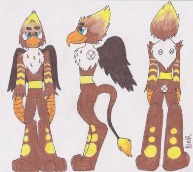CHEAP Gryphon Adoptable! (With Commission) -OPEN- by GingerBaconCookies
