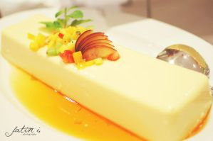 Orange Custard Pudding by puddingpolaroid